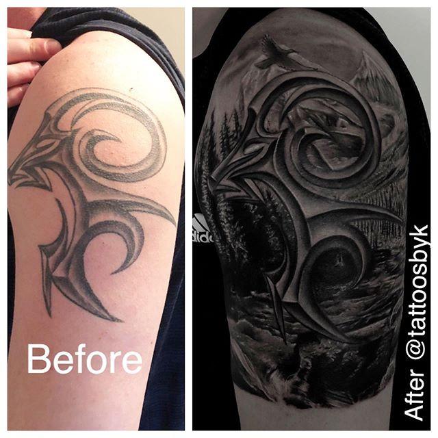 I fix tattoos too 🔥, if you need someon