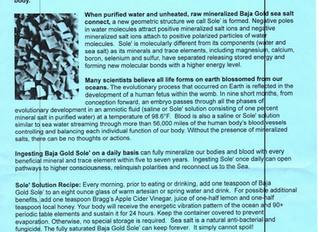 Baja Gold Sea Salt Information