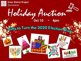 Fall Holiday Auction Goal $8000