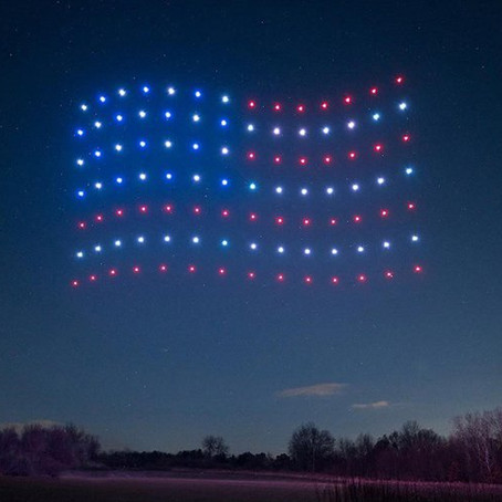 Drones as Fireworks