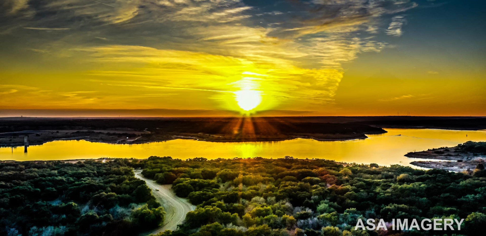 Sunset over Lake Georgetown.jpg