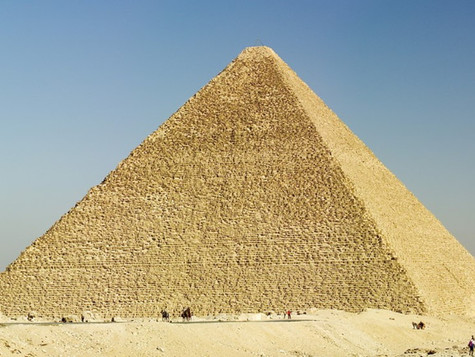 The Golden Section is the strength of the Cheops Pyramid.