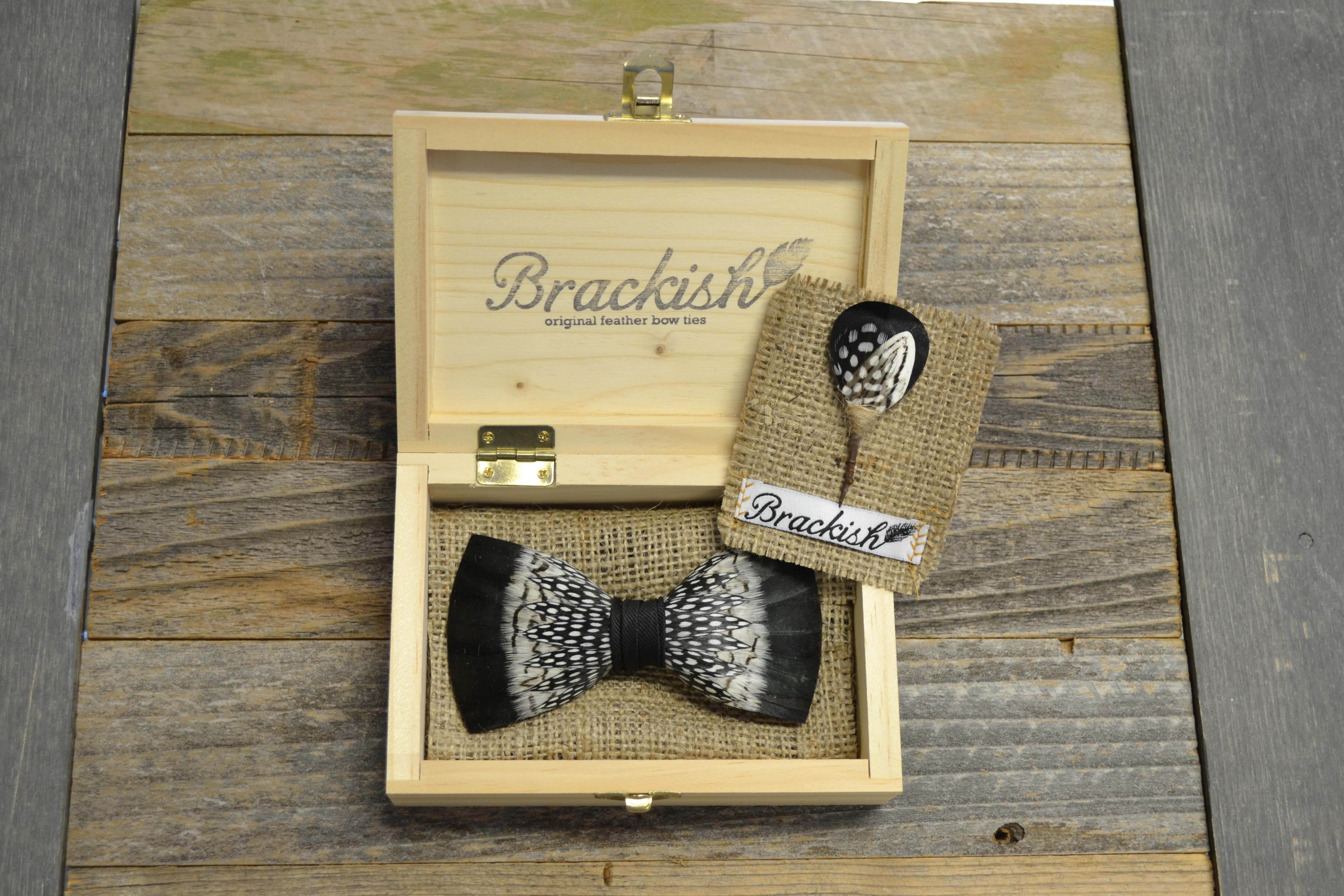 Brackish Bow Tie and Pin