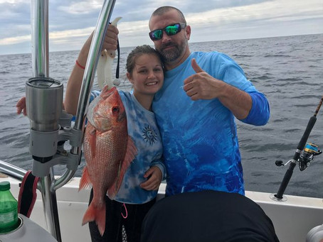 Two of a Kind- Red Snapper Recapture