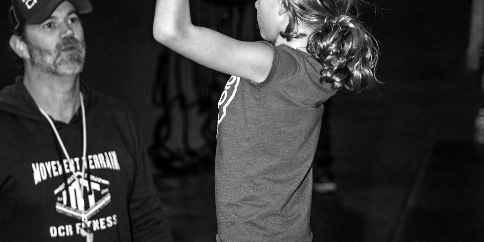 Tuesday's 5pm ages 6-8 Warrior Classes