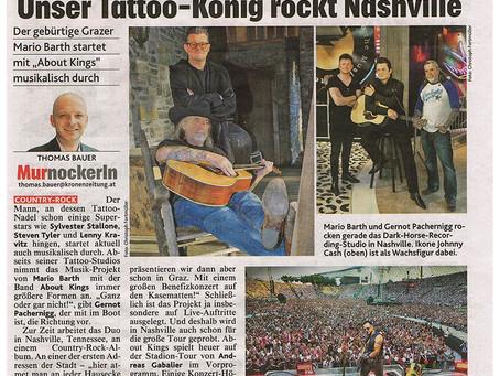 Unser Tattoo-König rockt Nashville