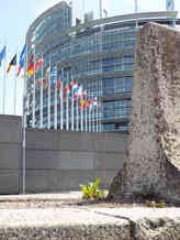 LOCATION 133, European Parliament, Strasbourg, France, 48.59871, 7.76773 Placed by Guido De Laet and Dee Dee Coohn Since June, 2016