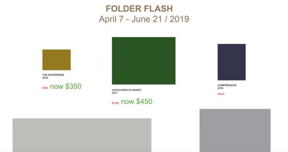 FOLDER FLASH @ online exhibition 2019