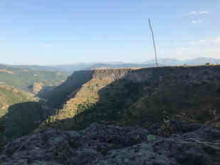 """LOCATION 143, Odzun (Aygehat), Armenia, 41°00'51.37""""N44°37'37.46""""E Placed by Dimitri Riemis and Femke Cools August 2017"""