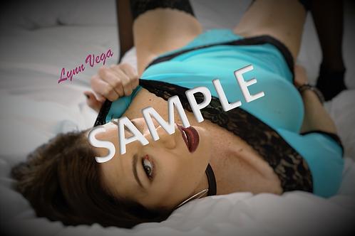 Physical 8x10 Photo Set, Signed by Lynn Vega