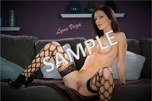 Physical 8x10 Photo, Signed by Lynn Vega