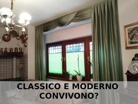 CLASSICO E MODERNO CONVIVONO? CERTO!