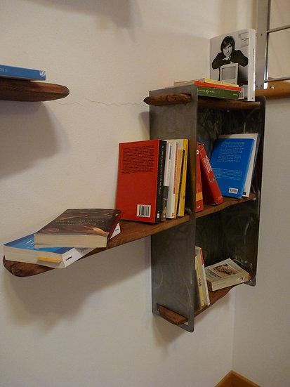 Libreria ferro legno
