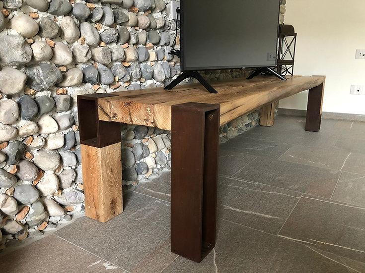 Tavolino Legno Corten