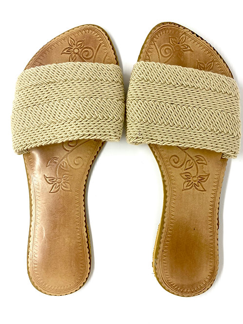 Wayuu Sandals Beige