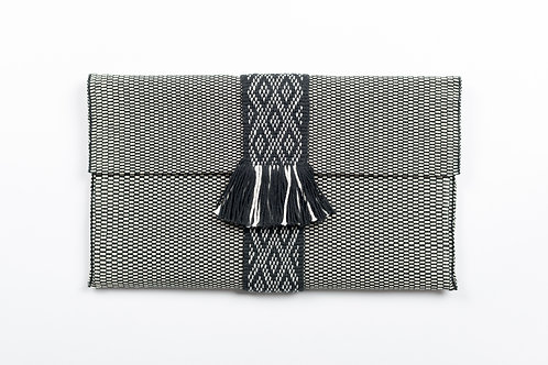 Ethnic-chic clutch