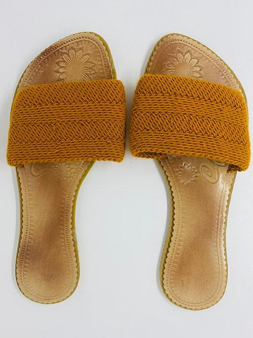 Wayuu Sandals Safran