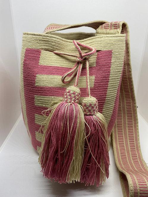 Pastel Pink Wayuu Bag