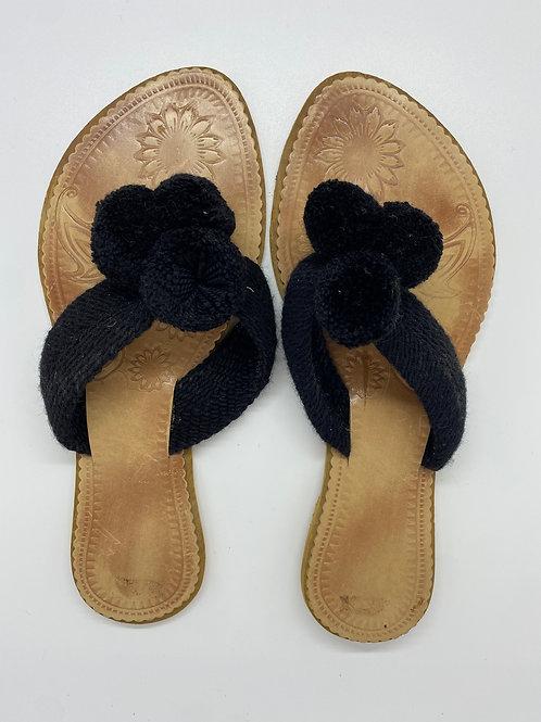 Wayuu Sandals Black