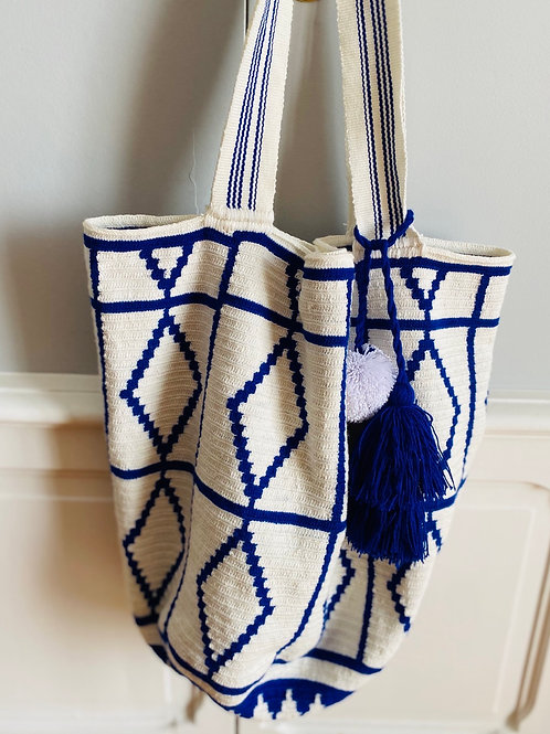 The Blue Tote Wayuu
