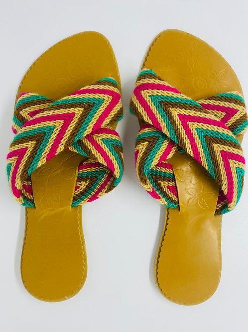 Criss-cross Wayuu Sandals