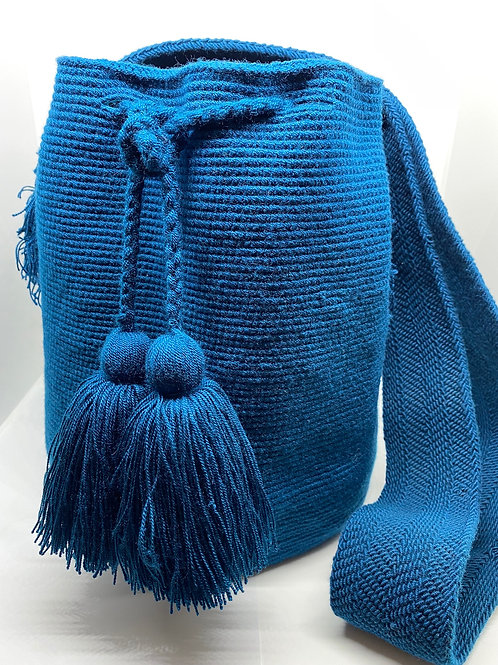 Perfect Blue Wayuu Bag