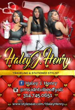 Haley Business Card/Flyer
