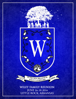 Wiley Family Reunion Booklet Cover