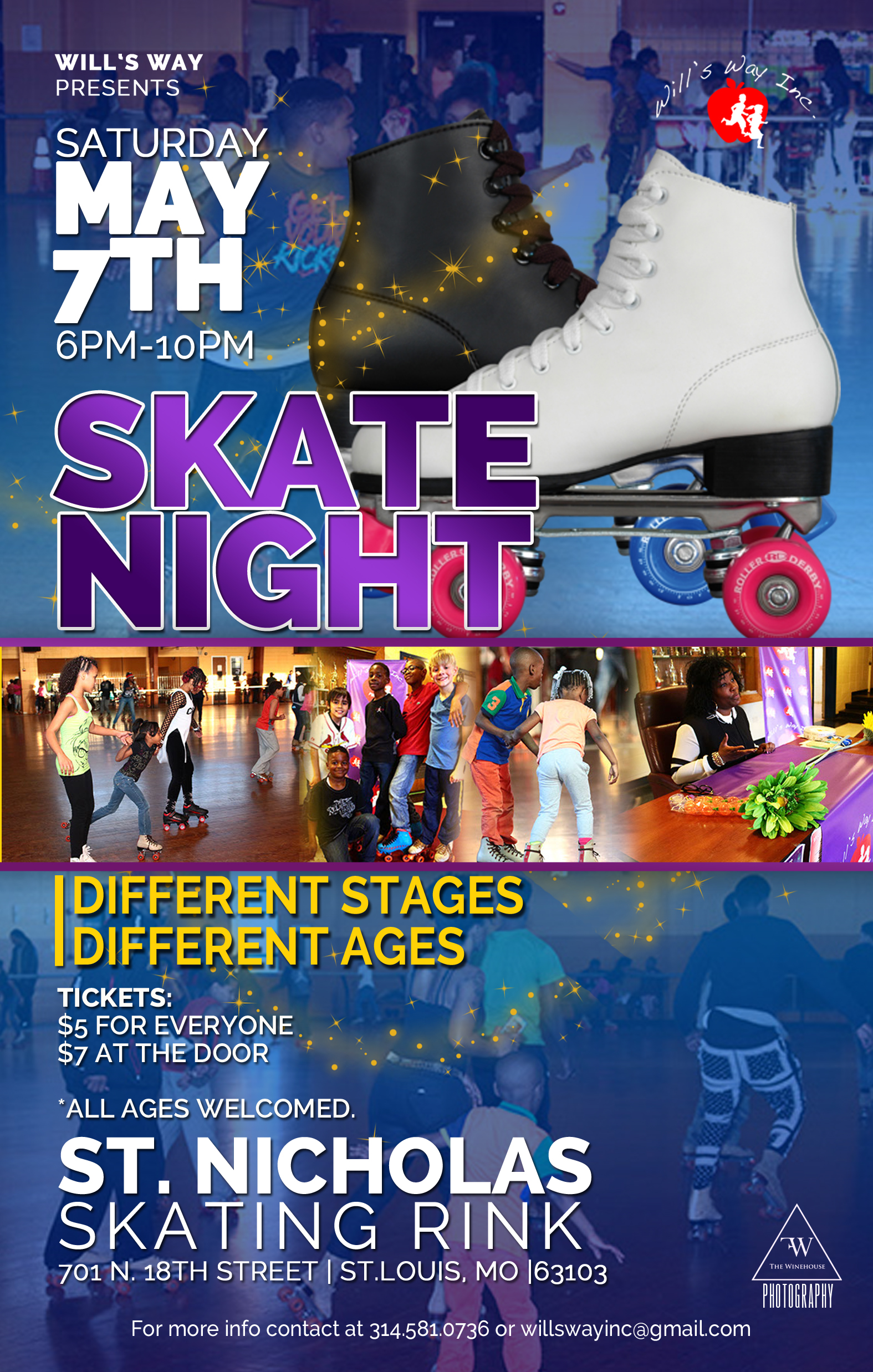 Will's Way Skate Night 2016