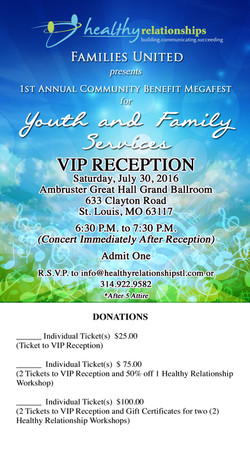 Families United Ticket