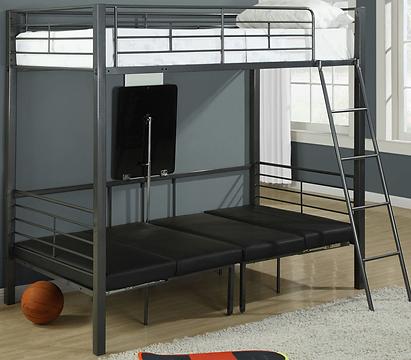 Multi-purpose bunk bed