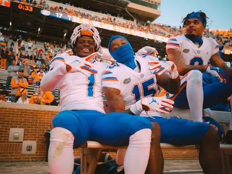 The Gators Wide Receiver Room, Present and Future