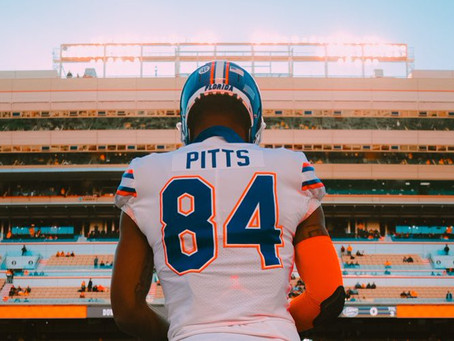 Different Animal, Same Beast: Kyle Pitts vs. Devonta Smith