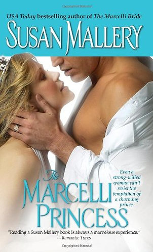 The Marcelli Princess by Mallery Susan