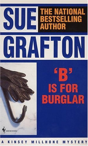 B Is For Burglar by Grafton Sue