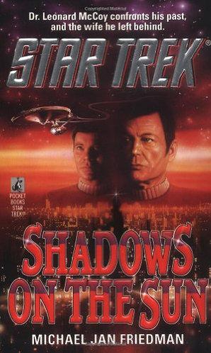 Star Trek Shadows On The Sun by Friedman Michael Jan