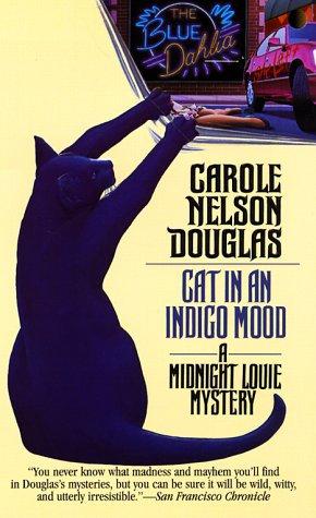 Cat In An Indigo Mood by Douglas Carole Nelson