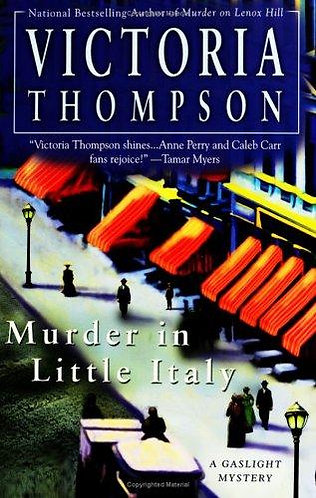 Murder In Little Italy by Thompson Vic