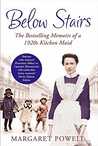 Below Stairs by Powell Margaret
