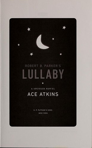 Lullaby by Parker Robert B.
