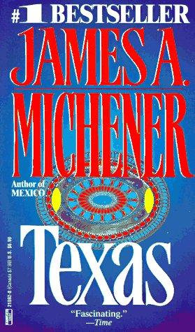 Texas by Michener James A.