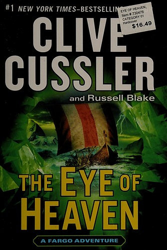 THE EYE OF HEAVEN by Cussler Clive