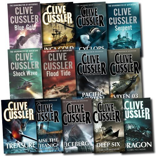 Blue Gold by Cussler Clive