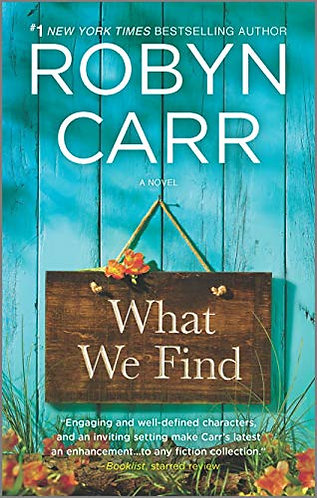 Carr Robyn - What We Find