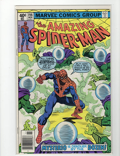 Amazing Spider-Man #198 - F/VF