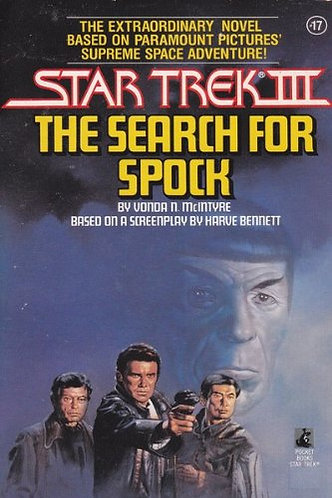 Star Trek 3 The Search For Spo by Mcintyre Von