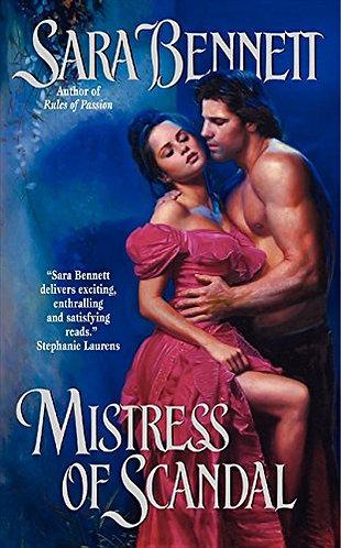 Mistress Of Scandal by Bennett Sara