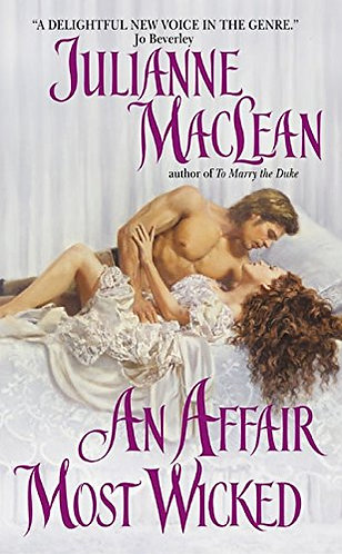 An Affair Most Wicked by Maclean Julianne