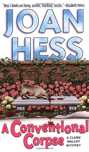 A Conventional Corpse by Hess Joan