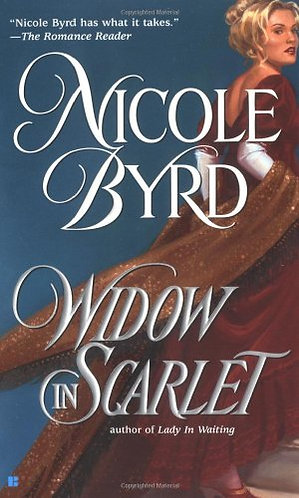 Widow In Scarlet by Byrd Nicole